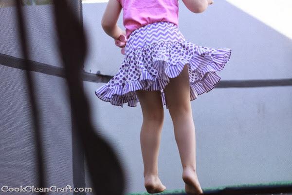 Tiered Gathered Skirt (1)