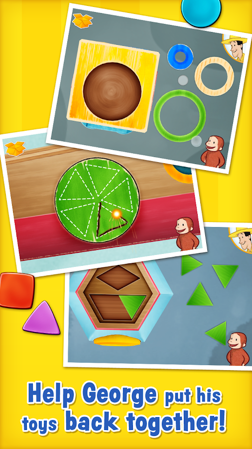 Curious About Shapes & Colors- screenshot