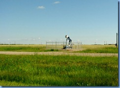 8415 Manitoba Trans-Canada Highway 1 Virden - The Oil Capitol of Manitoba - oil pump
