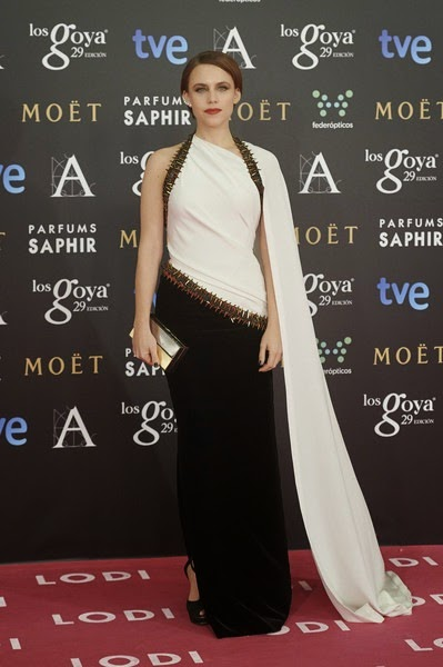 Aura Garrido attends Goya Cinema Awards
