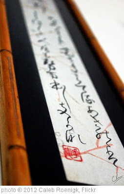 'Japanese Writings' photo (c) 2012, Caleb Roenigk - license: https://creativecommons.org/licenses/by/2.0/