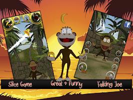 Screenshot of Cut the Fruits – Talking Joe