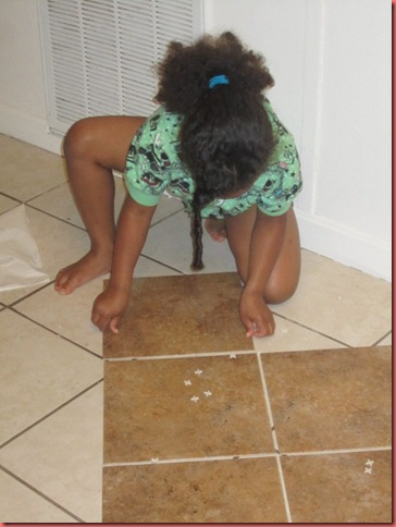 How I Tiled My Floors On The Cheap Trafficmaster Ceramica Tiles Made By Carli