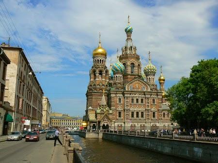 Circuit Rusia: Catedrala Sf. Sange Varsat - St. Petersburg