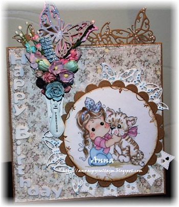 Anna - use die cuts