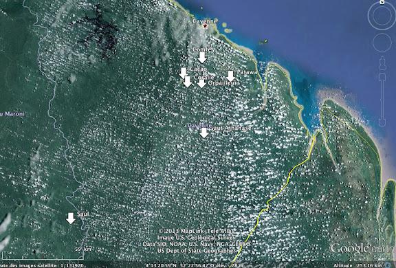Guyane octobre-novembre 2012