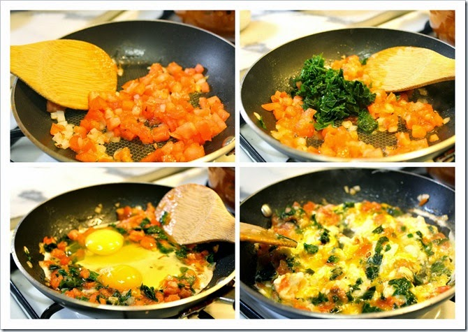 Scrambled Eggs with Chaya | Instructions step by step, quick and easy recipe