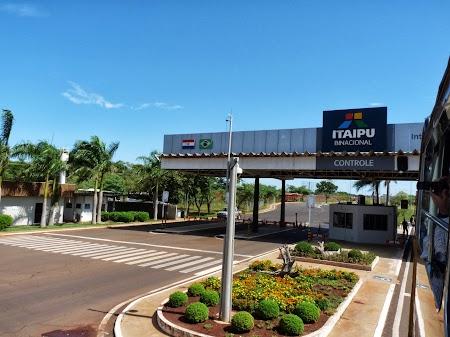 Cascada Iguazu: Intrarea in Itaipu