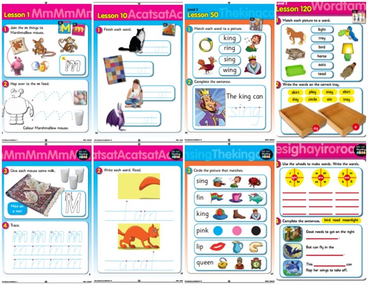 reading eggs lesson activity sheets