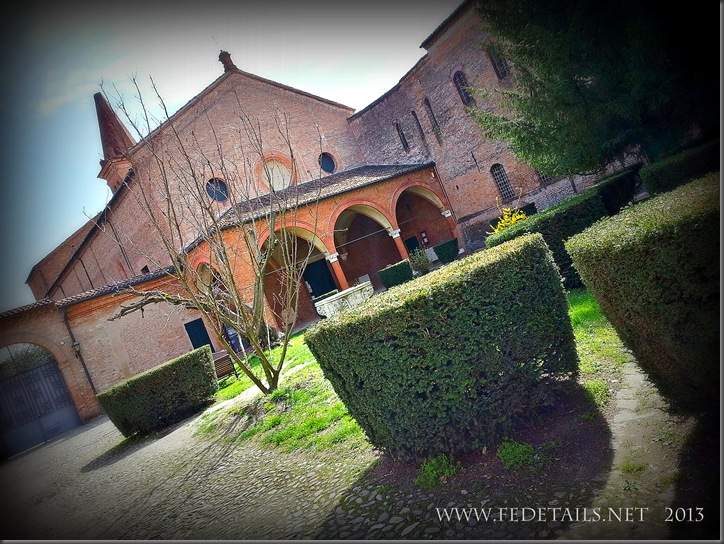 Monastero S. Antonio in Polesine , foto1,Ferrara,Emilia Romagna,Italia - Monastery of St. Antonio in Polesine, photo 1, Ferrara, Emilia Romagna, Italy - Property and Copyrights of FEdetails.net