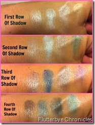 Elf shadow swatches