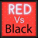 Pretty Red vs Black Keyboard icon