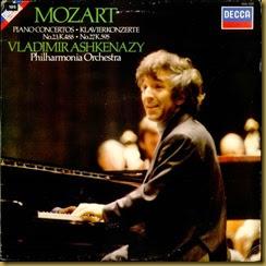 Mozart 27 Ashkenazy