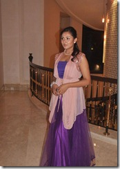 Madhu Shalini at Keerthi With Rakesh Wedding Sangeet Photos