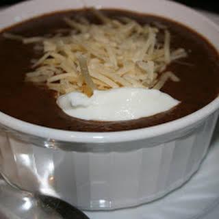 CrockPot Black Bean Soup.