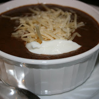 CrockPot Black Bean Soup.
