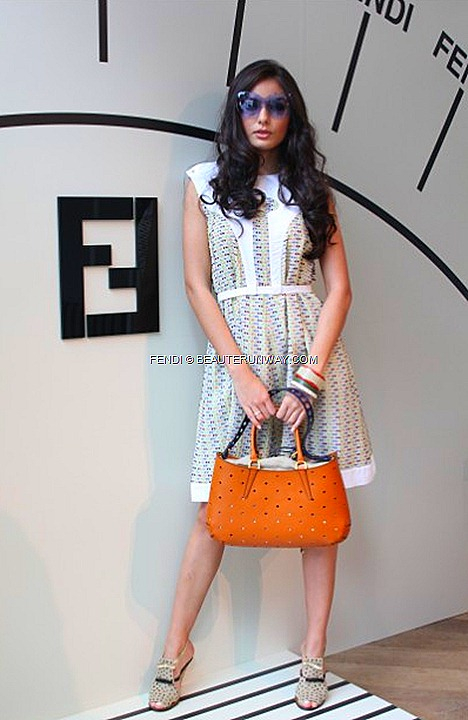 FENDI SPRING SUMMER 2012  B FAB IT BAG  leather fur WOMEN MEN RTW BY KARL LAGERFELD & SILVIA VENTURIN FENDI
