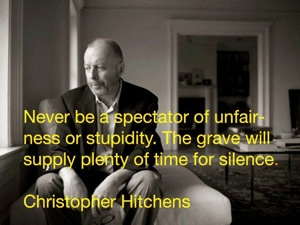 christopher hitchens on stupidity
