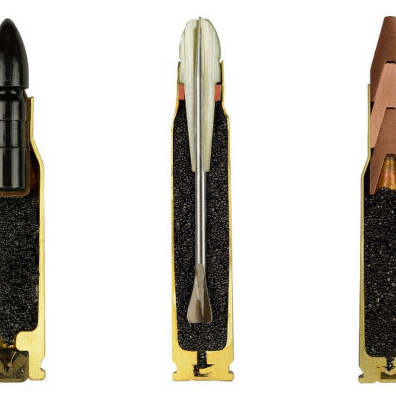 Photos of Bullets Sliced in Half by Sabine Pearlman