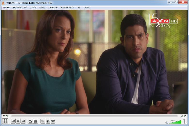 AXN HD en VLC