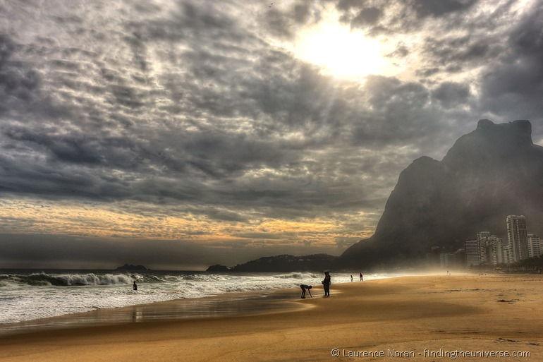 Sao conrado beach Rio Brazil 2