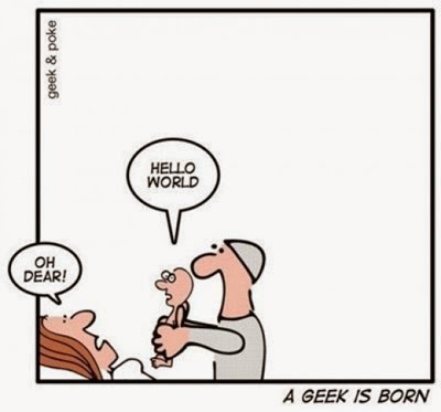 A Geek is Born