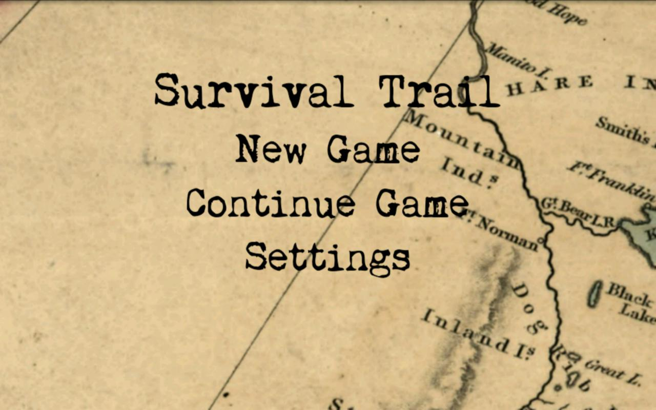 Survival Trail Demo- screenshot