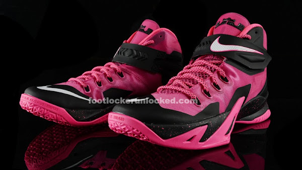 purchase cheap f0267 098fa Release Reminder: Nike Zoom LeBron Soldier 8