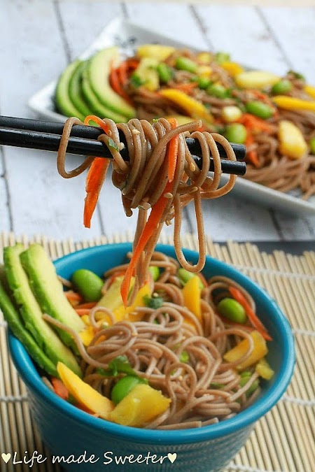 Soba Noodle Salad with Mango, Edamame, Pineapples & Avocado 4.jpg