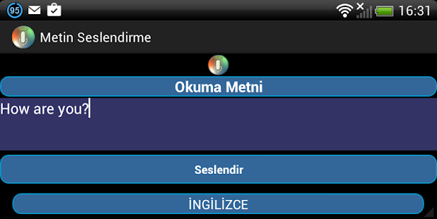 Metin Seslendirme - screenshot thumbnail