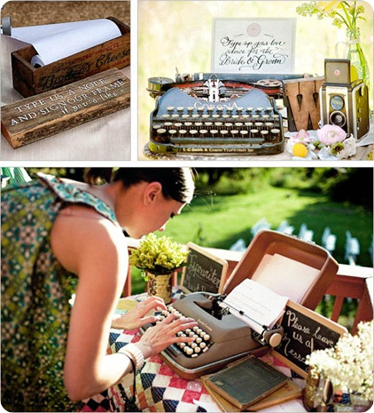 typewriter-guest-book-ideas-wedding-bouqet-ideas-blogger-guest-book-alternative-better-ssfashionworld-ss-fashion-world-spela-seserko-