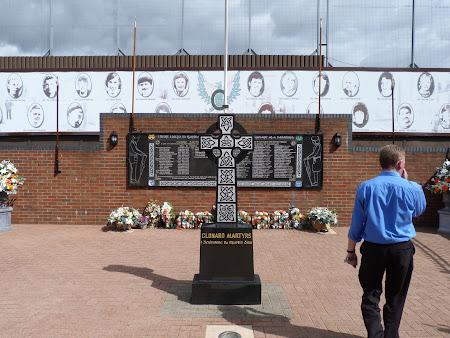 Obiective turistice Irlanda de Nord: Gradina martirilor Belfast
