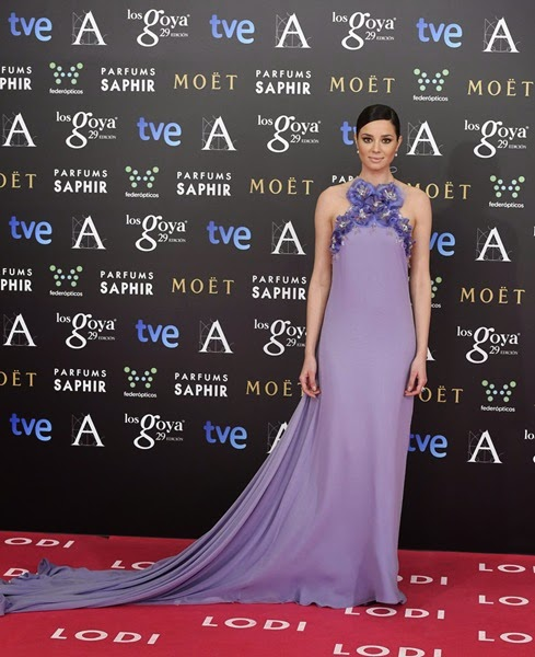 Dafne Fernandez attends Goya Cinema Awards