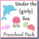 Under the Sea Preschool Girly Pack