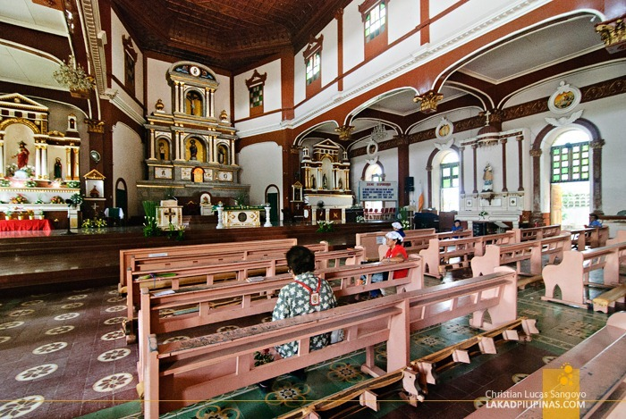 Dipolog Cathedral Interior