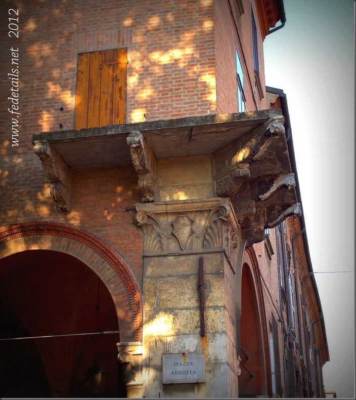 Palazzo Strozzi - Bevilacqua ( balcone ), Ferrara, Emilia Romagna, italia - Palazzo Strozzi - Bevilacqua ( balcony ), Ferrara, Emilia Romagna, Italy - Property and Copyrights of www.fedetails.net