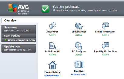 AVG Antivirus 2012 Free 64-bit Download