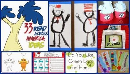 Dr Seuss activities Read across america teaching blog addict