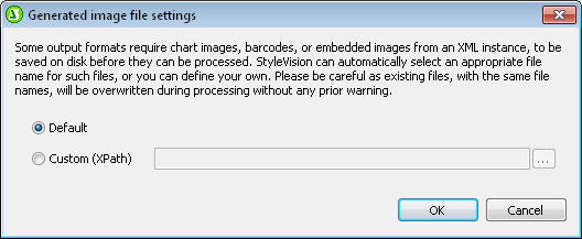 StyleVision chart file name dialog