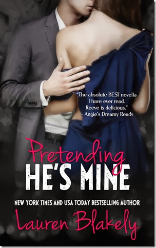 Pretending He's Mine by Lauren Blakely new cover Feb 20 reveal