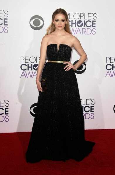 Greer Grammer attends The 41st Annual Peoples Choice Awards