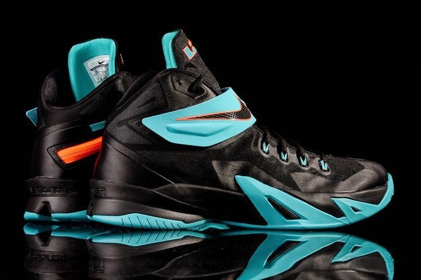 d1607a1ee119 Brand New Nike Zoom LeBron Soldier 8 Drops in Gamma Blue