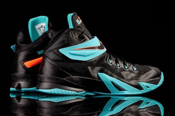 official photos c2717 6d641 Brand New Nike Zoom LeBron Soldier 8 Drops in Gamma Blue ...