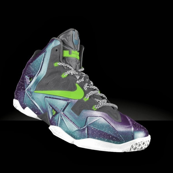 Preview LeBron XI iD… Galaxy, Glow in the Dark, and Much ...