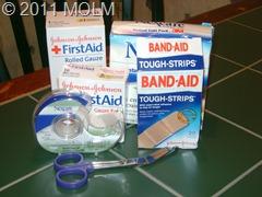 emergency 4 bandages