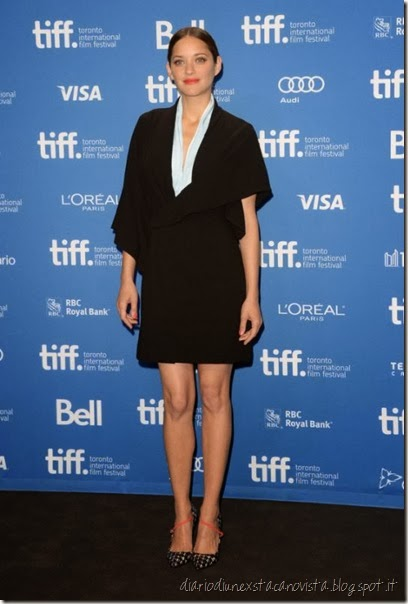 Marion Cotillard In Christian Dior Couture – 'Blood Ties' Toronto Film Festival Press Conference