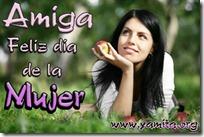 14febrero - 14febrero - Amiga Feliz dia de la Mujer