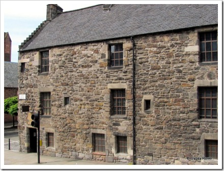 The oldest house in central Glasgow.