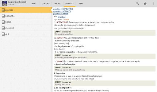 玩免費書籍APP|下載Cambridge School Dictionary TR app不用錢|硬是要APP