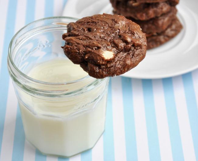 chocolate brownie cookies 112
